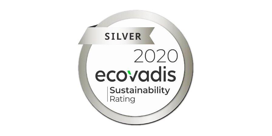 ecovadis cardbox packaging silver